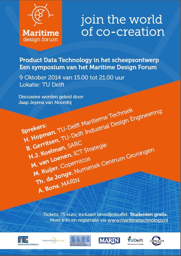 Marine Design Forum poster